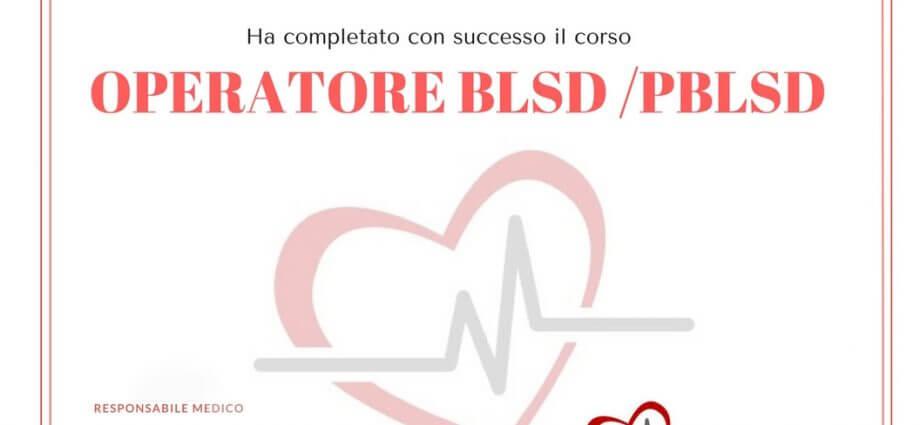 ATTESTATO BLSD-PBLSD